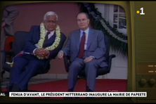 Il y a 30 ans, Mitterrand inaugurait la mairie de Papeete