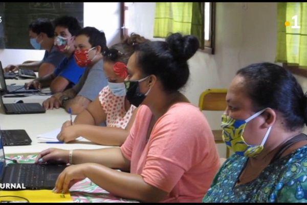 Formation aux métiers du numérique à Nuku Hiva