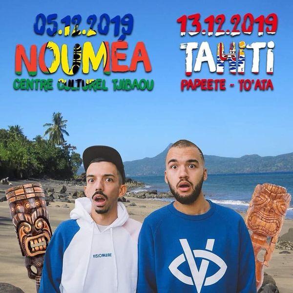 Bigflo et Oli en concert dans le Pacifique 2019