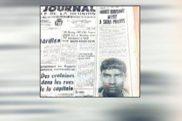 Décès de Frantz Ramsamy cavale historique après meurtre d'un gendarme