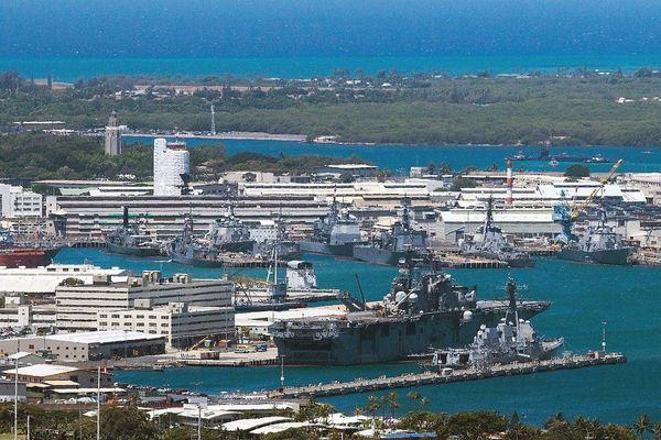 La base américaine de Pearl Harbor à Hawaï