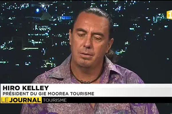 Hiro Kelley président du GIE Tourisme de Moorea