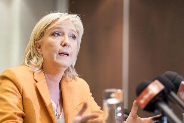 Marine Le Pen au Québec