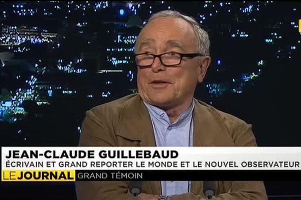 Jean Claude Guillebaud, témoin d'un monde agité