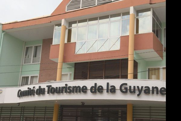Le siège du comité du tourisme à Cayenne
