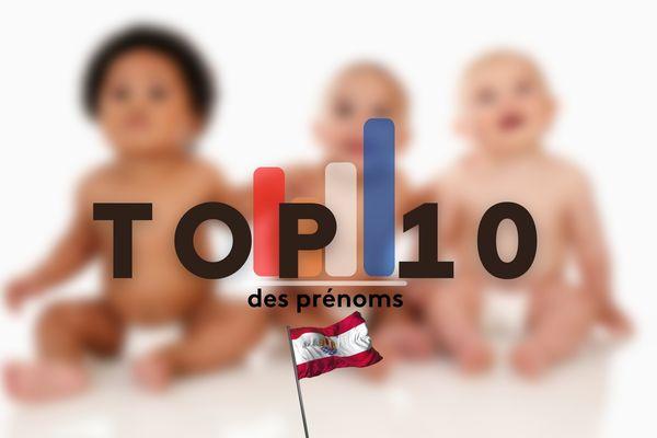 Le top 10 des prénoms donnés en Polynésie