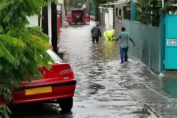 Inondation à l'île Maurice 28 avril 2021