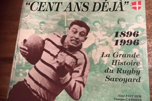 Laurent Jalabert en couverture de magazine pour les 100 ans du Rugby