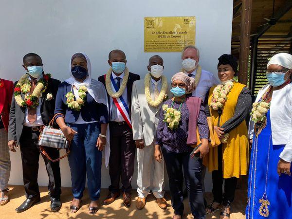 Inauguration du P.E.R de Coconi