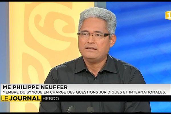 L'invité de l'hebdo : Me Philippe NEUFFER, avocat au barreau, membre du synode, en charge des questions juridiques et internationales.