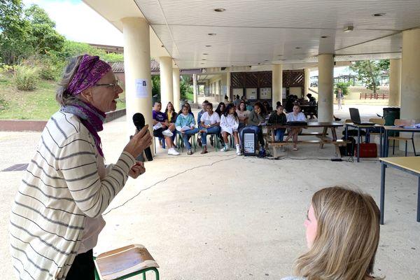Journée égalité hommes-femmes Lycée Grand Nouméa