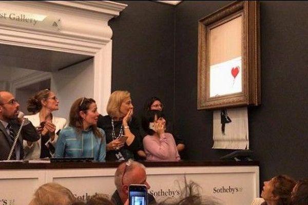 L'artiste Banksy frappe encore fort