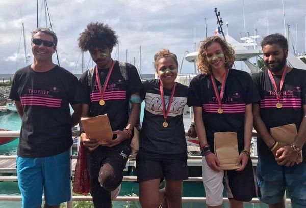 Trophée Jeunes marins et artistes 2019, équipage îles