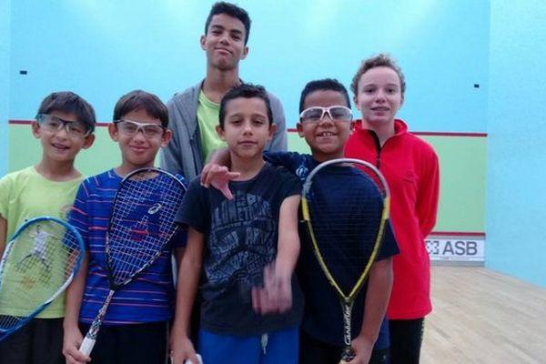 Garçons squash