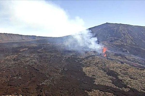 Webcam du Piton de la Fournaise de l'IRT / OVPF