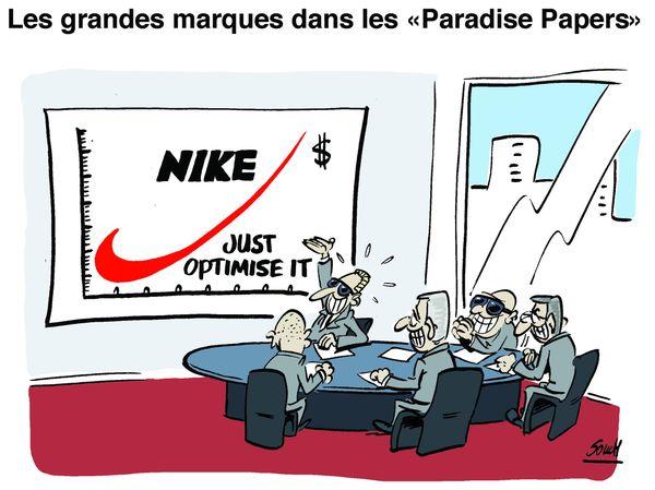 Le dessin de Souch : Nike