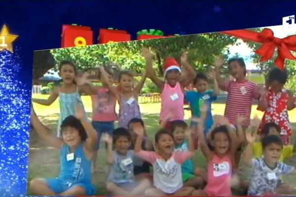 Les voeux des enfants du fenua - Jour 20