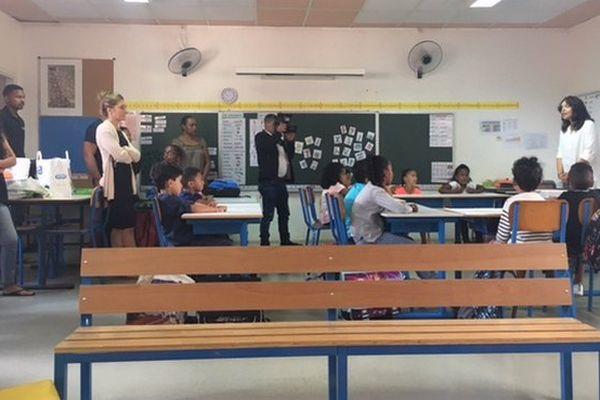 Rentrée école de Sainte-Rose