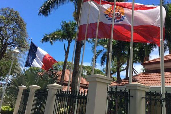 La présidence de la Polynésie française