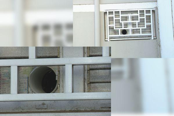 Montage système évacuation appartement