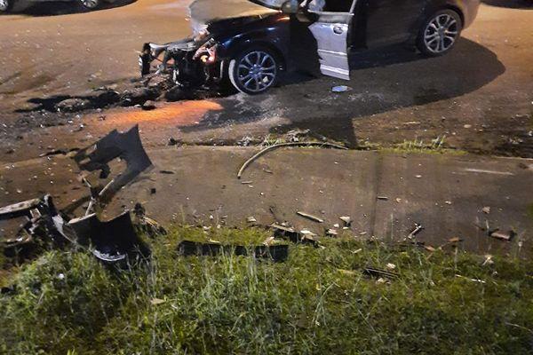 accident voiture capesterre