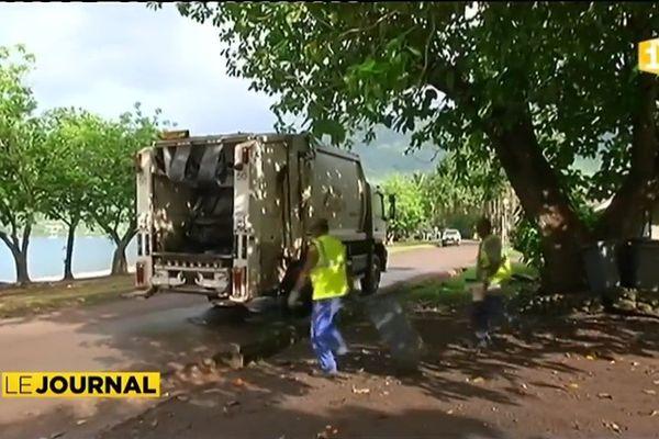 Nuku-Hiva : le traitement des déchets