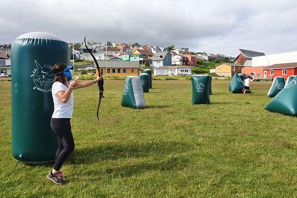 bataille d'archers
