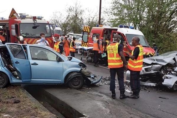 accident duché Bouillante