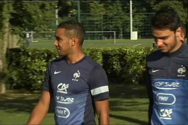 Dimitri Payet à Clairefontaine