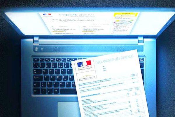 Déclaration impôts en ligne