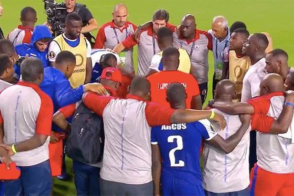 L'équipe d'Haïti