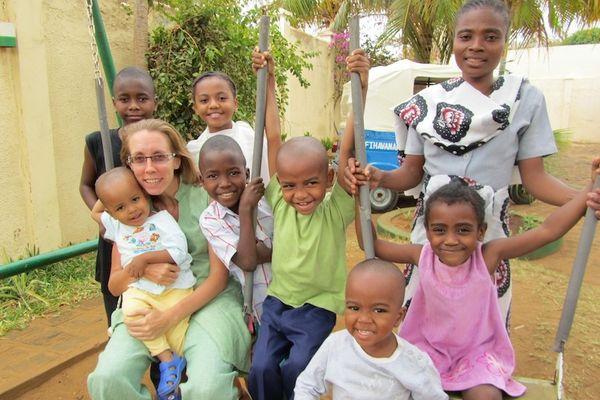Maison d'accueil  à Madagascar