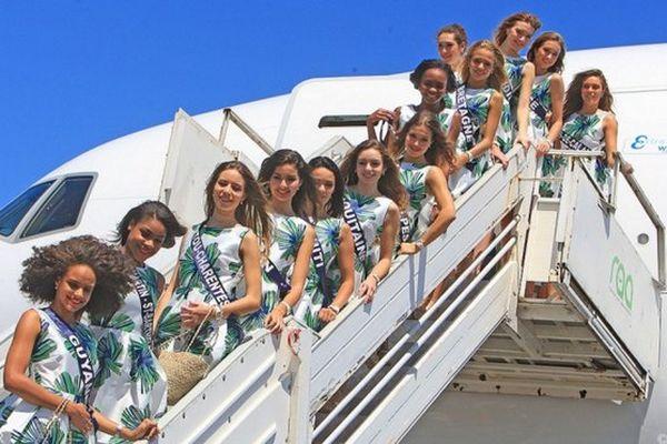 20161124 Arrivées candidates à Miss France