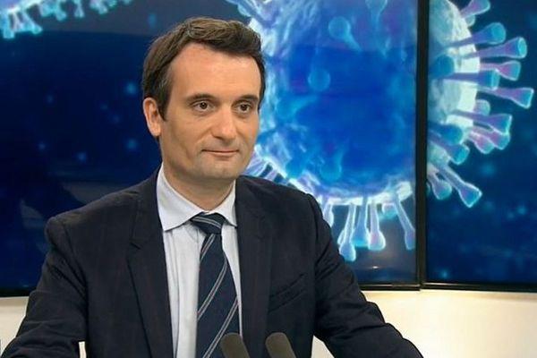 Florian Phillipot en visite à La réunion 120121