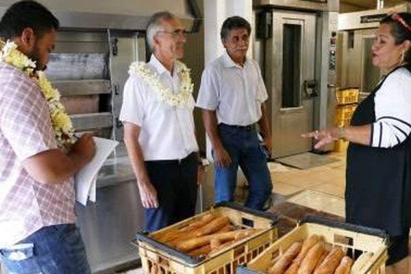 visite boulangerie Ugatai