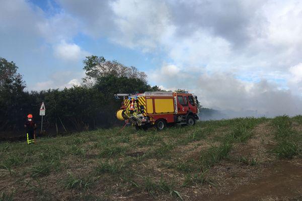 Incendie à Sainte-Marie - 2