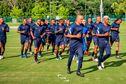 La sélection de Martinique prête à affronter celle du Canada pour son premier match de la Gold Cup