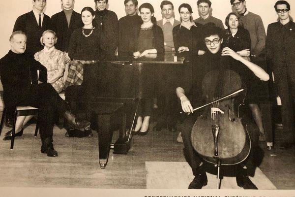 Frédéric Lodéon au Conservatoire national supérieur de musique de Paris