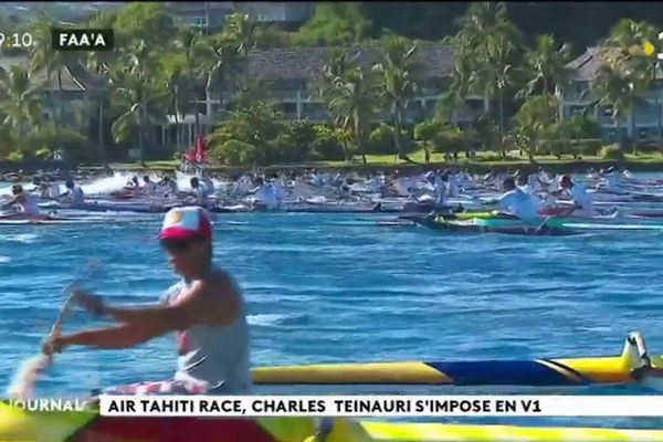 Air Tahiti Race : Charles TEINAURI au top !