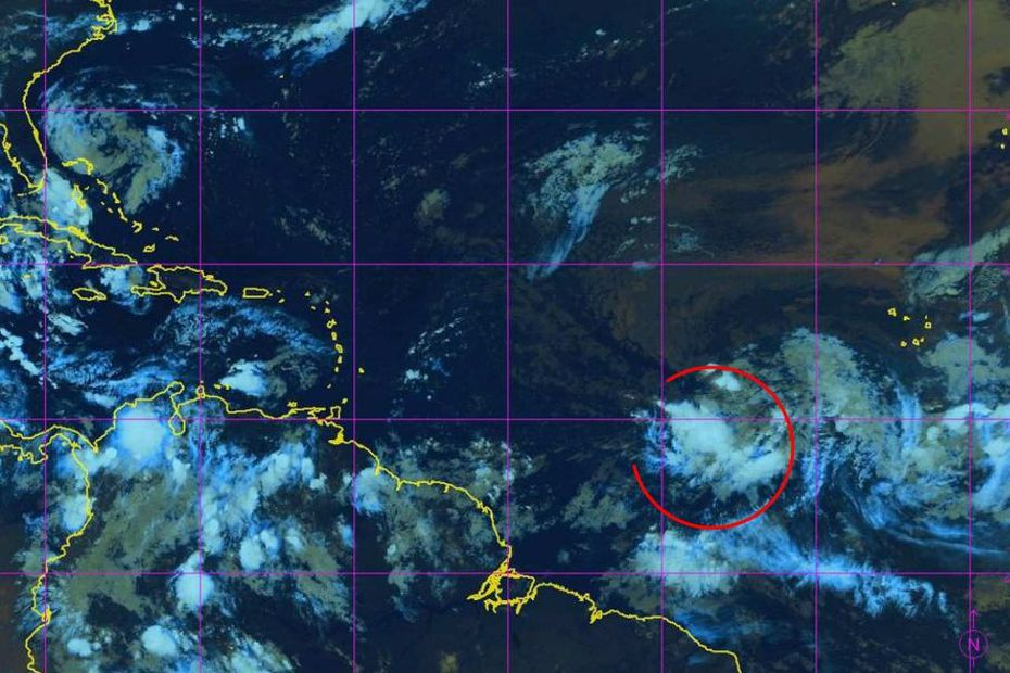 L'onde tropicale 21 menace de se renforcer et de passer sur nos îles, en milieu de semaine - Guadeloupe la 1ère