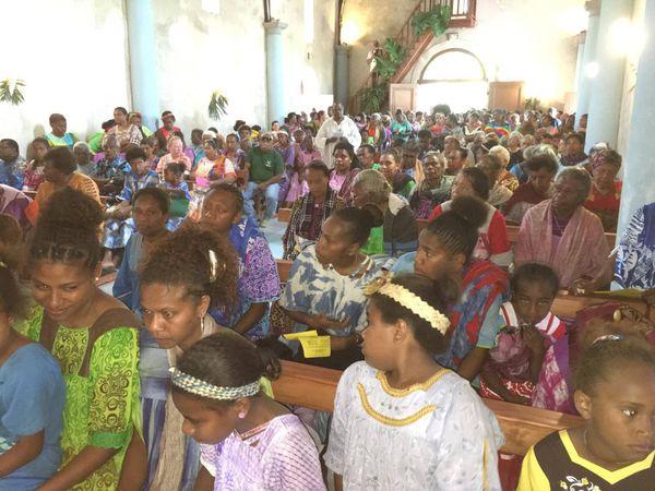 Réouverture au public église de Touho MIssion Cemuhi 4 23 septembre 2017