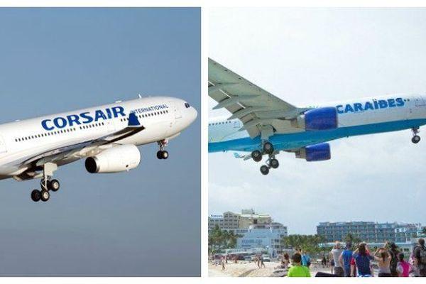 Corsair et Air Caraibes