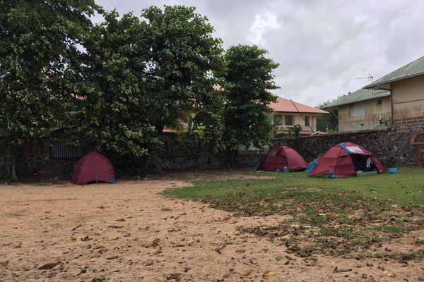 Réunion migrants syriens