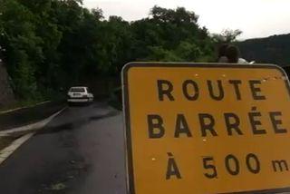 Route de Cilaos: des purges demain jusqu'à 17h