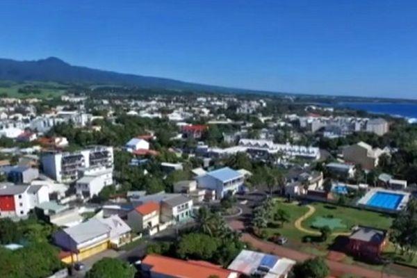 Saint-Benoît : vue aérienne de drone