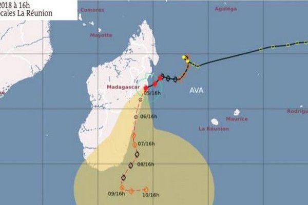 Cyclone Ava Madagascar