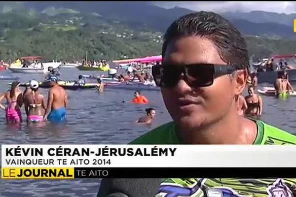 Kevin Céran-Jérusalémy, vainqueur du Te Aito