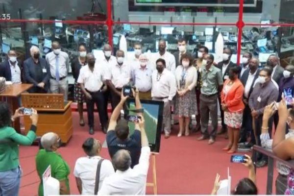 Signature convention CNES/Mairies