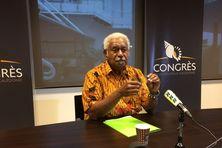 De Port-Vila à New York en passant par Paris et Abidjan, le président du Congrès a évoqué les grands dossiers de l'actualité calédonienne.