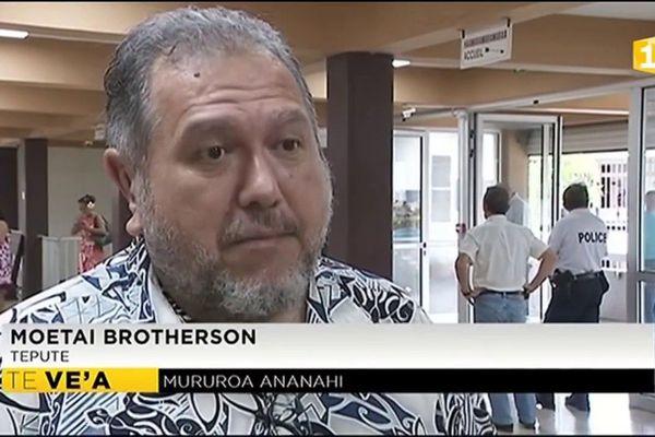Le système de surveillance de Moruroa insuffisant pour Moetai Brotherson